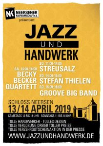 Jazz und Handwerk Schloss Neersen 2019
